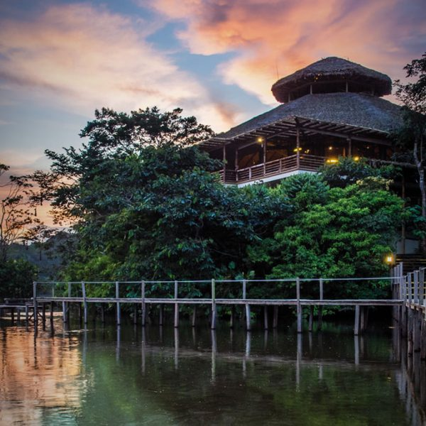 FINDING LUXURY IN THE AMAZON JUNGLE