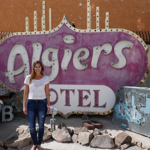 GETTING OFF THE VEGAS STRIP TO THE NEON MUSEUM