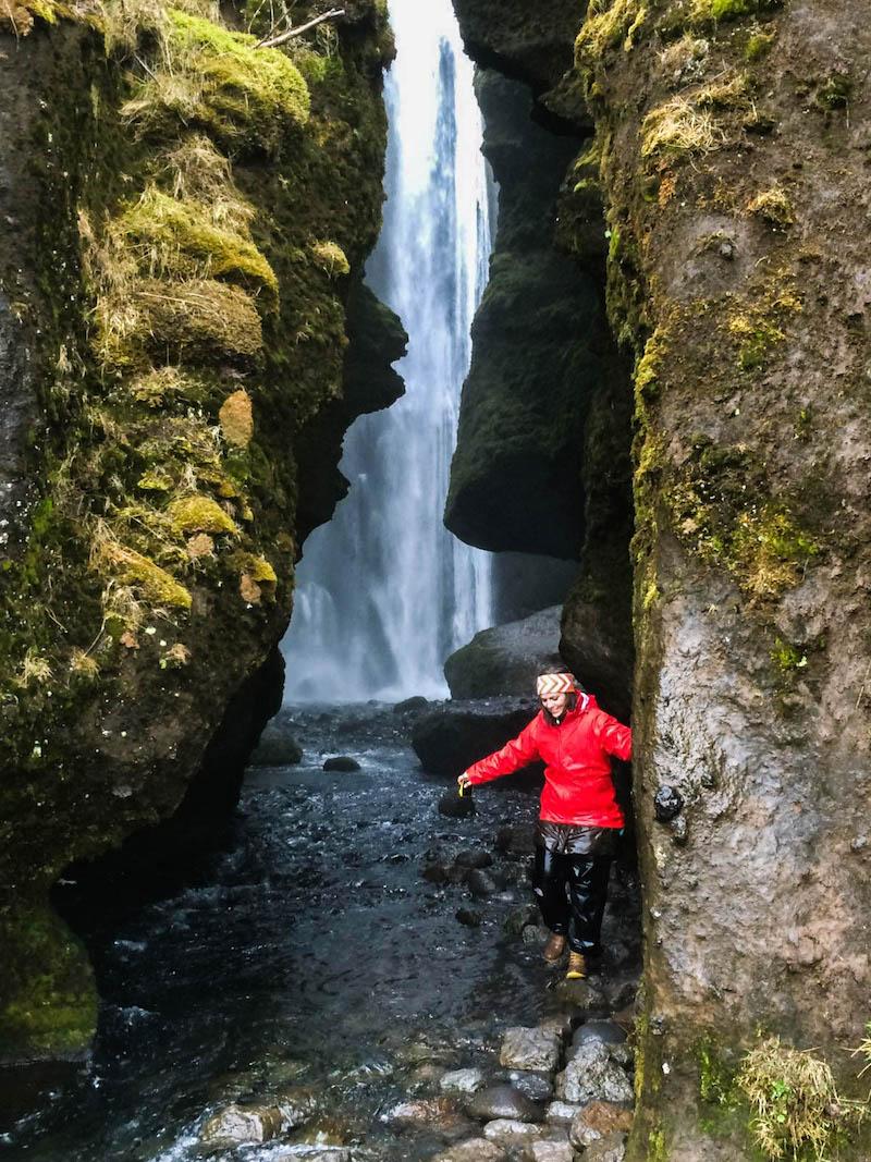 Gljufrabul Waterfall, Iceland