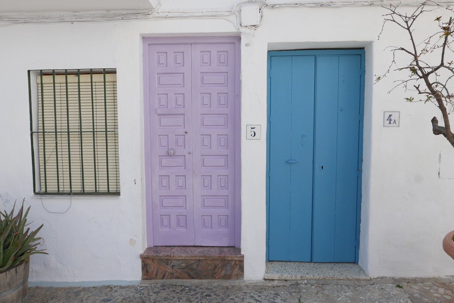 purple-door-frigiliana