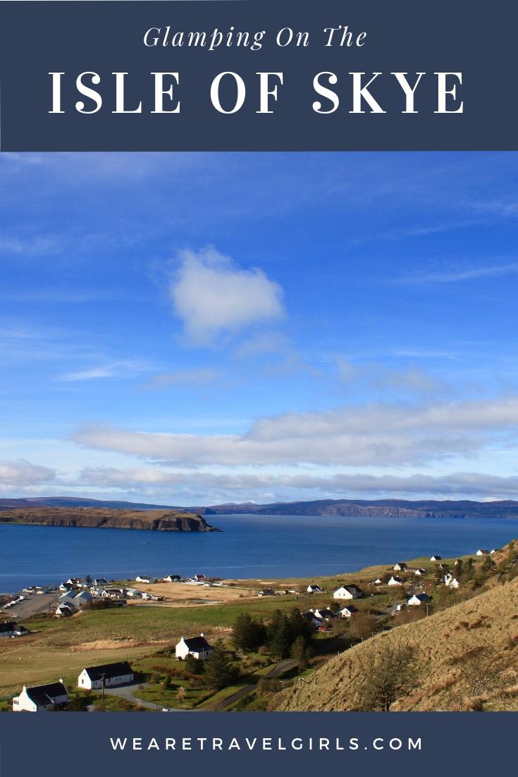 glamping on the isle of skye