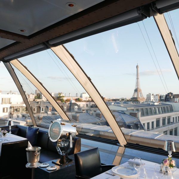 FOOD, HISTORY & AN EPIC VIEW AT L'OISEAU BLANC, PENINSULA PARIS