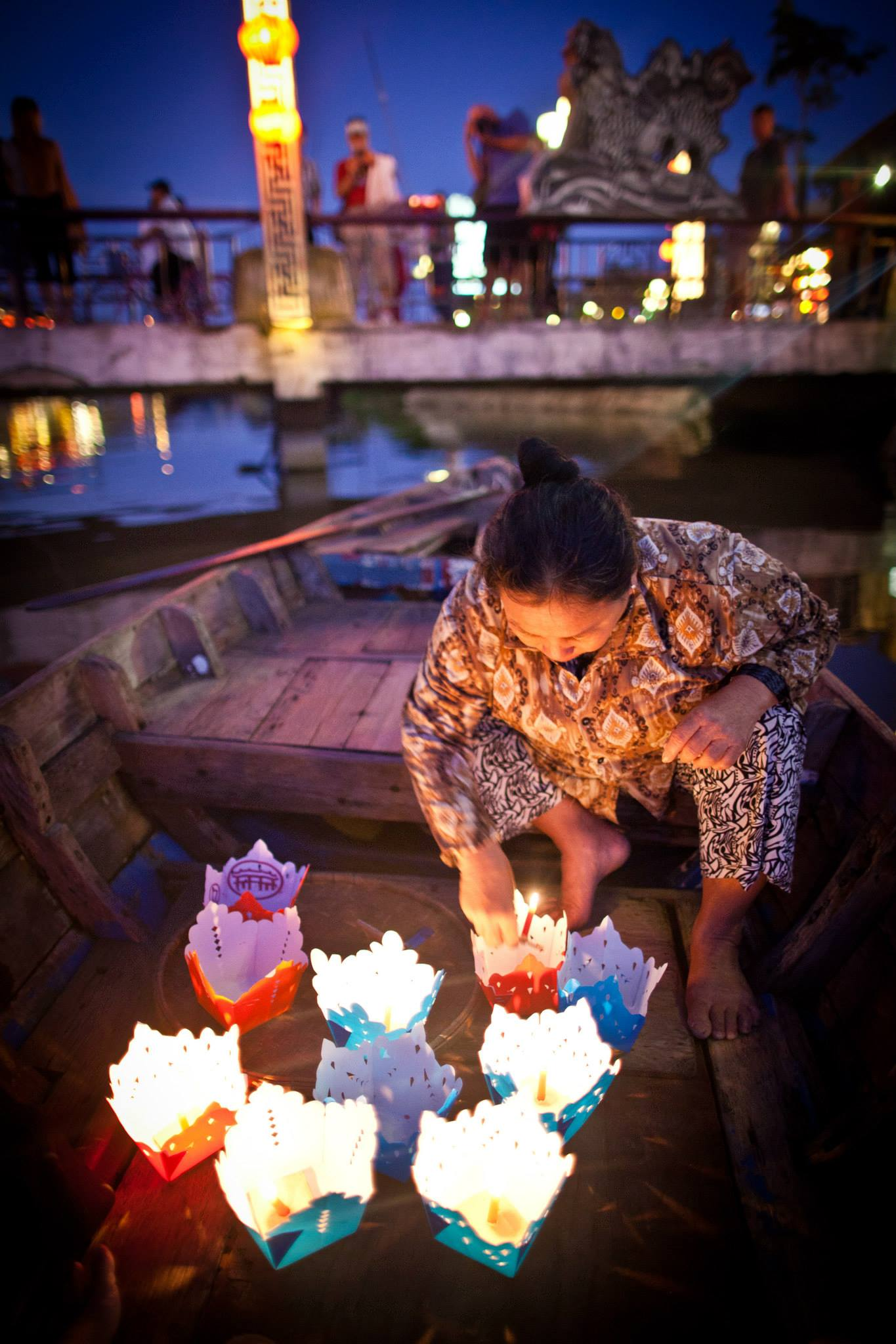 photo-of-release-lanterns-into-the-river
