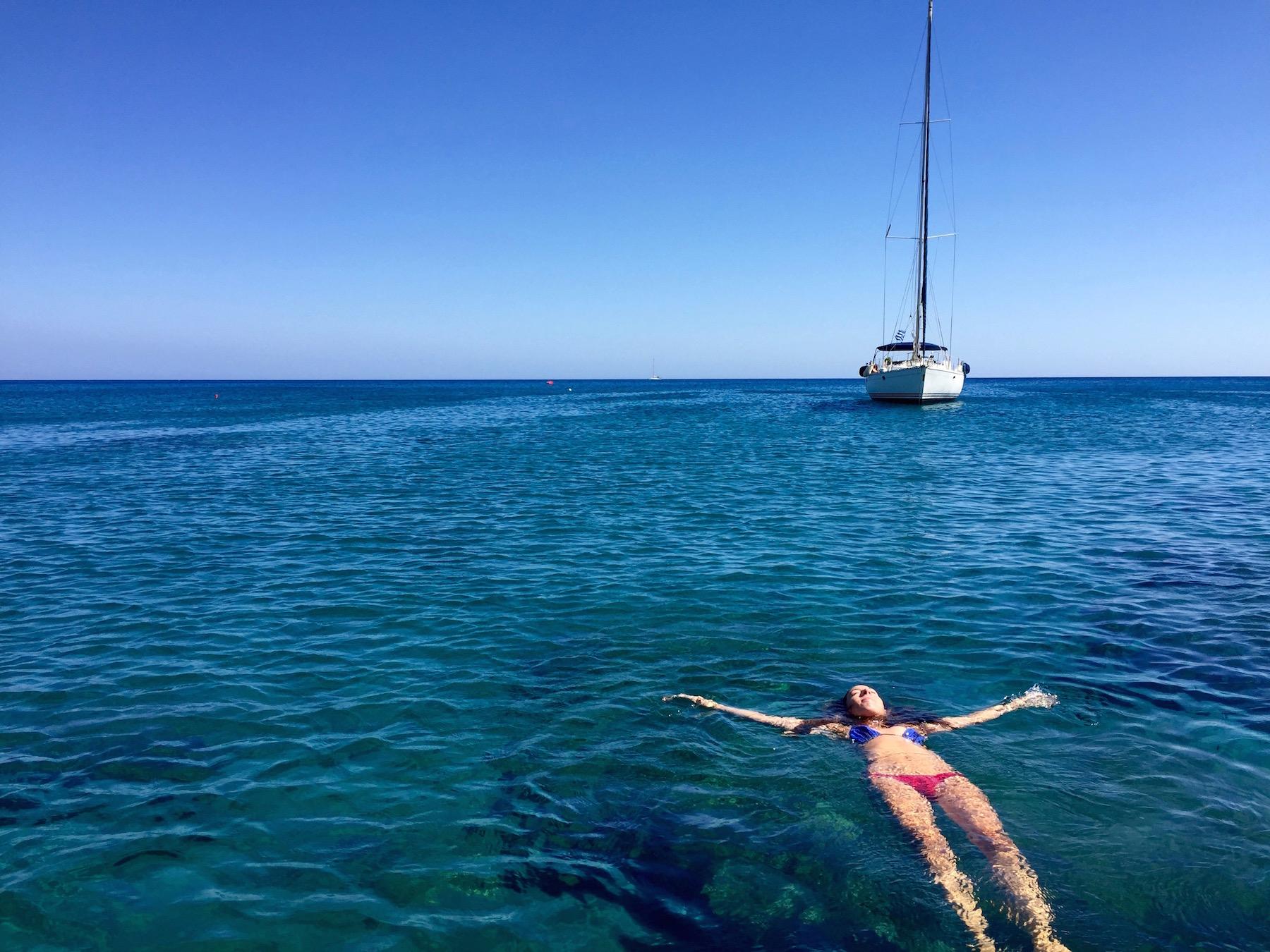 small-cyclades-ocean-swim