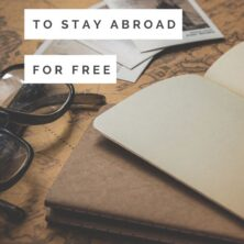 8 ways to stay abroad for free!