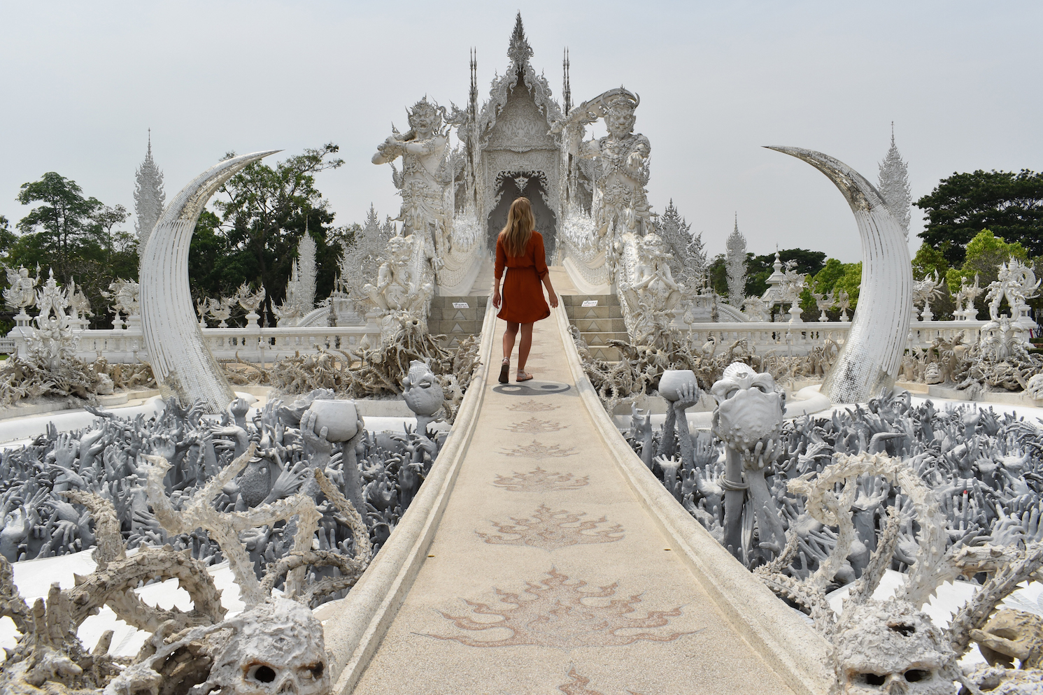 Visiting The White Temple In Thailand We Are Travel Girls