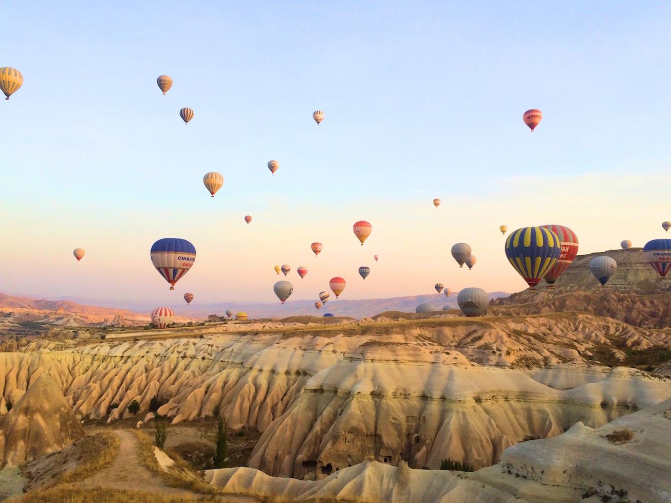 Hot Air Ballooning In Cappadocia We Are Travel Girls