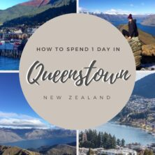 how to spend 1 day in queenstown pinterest cover