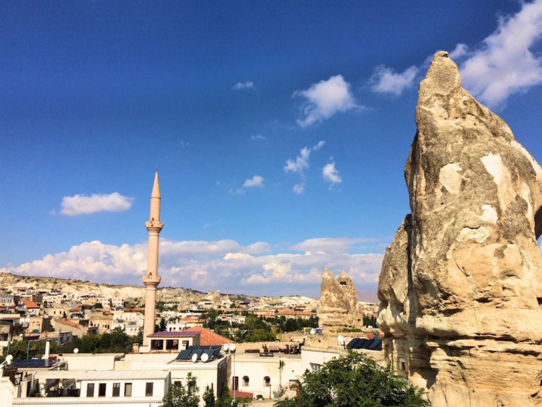 View from Diamond of Cappadocia Hotel