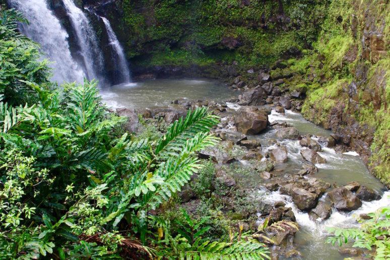 upper-waikani-falls-maui