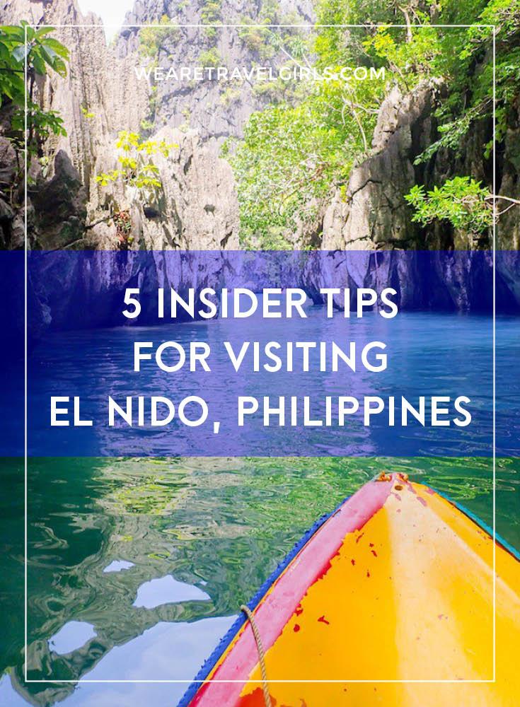5 INSIDER TIPS FOR VISITING EL NIDO, PHILIPPINES