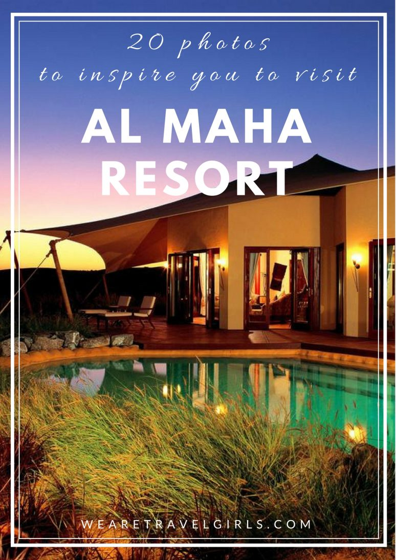 20 PHOTOS TO INSPIRE YOU TO VISIT AL MAHA RESORT, DUBAI