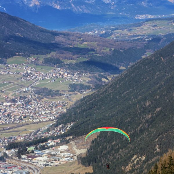 FLYING THROUGH THE ALPS: PARAGLIDING IN AUSTRIA