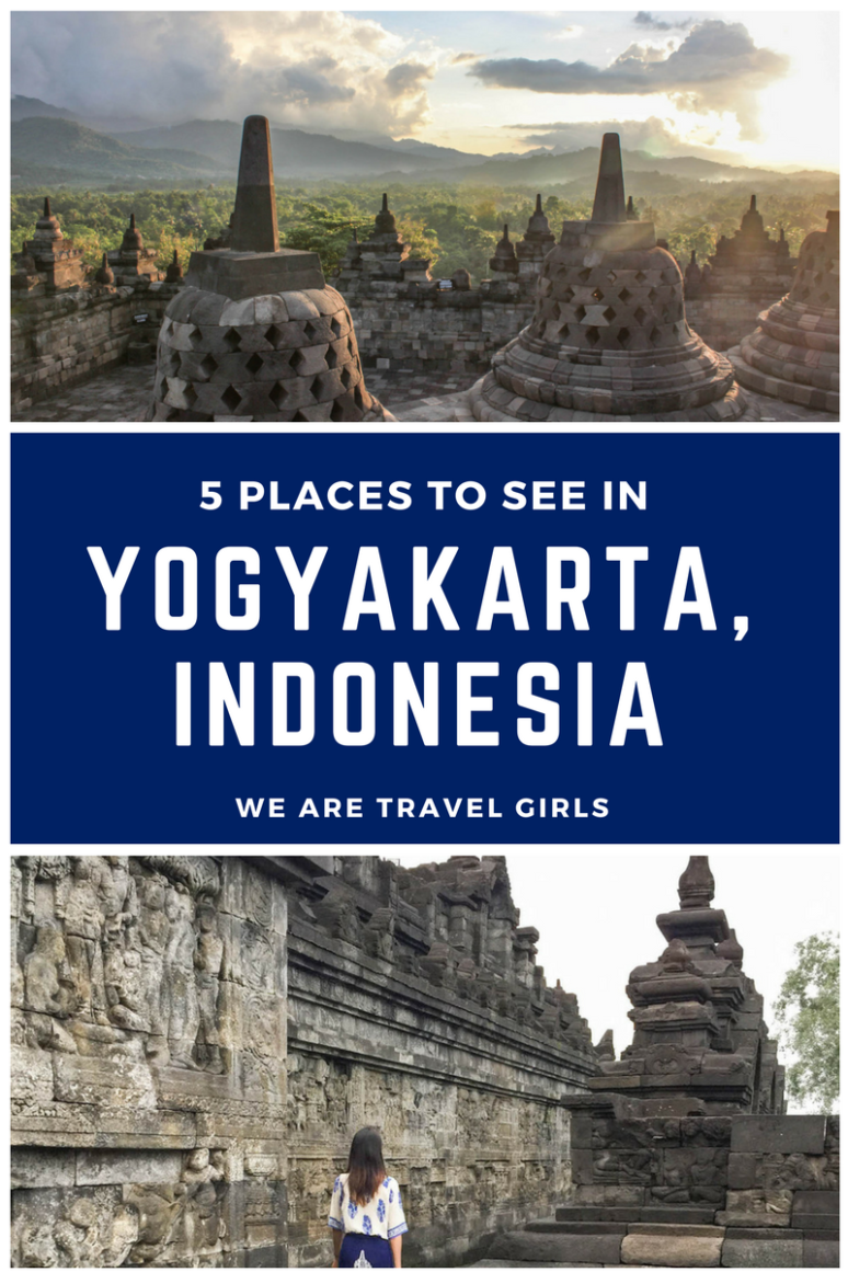 5 PLACES TO SEE IN YOGYAKARTA, INDONESIA GRAPHIC 1