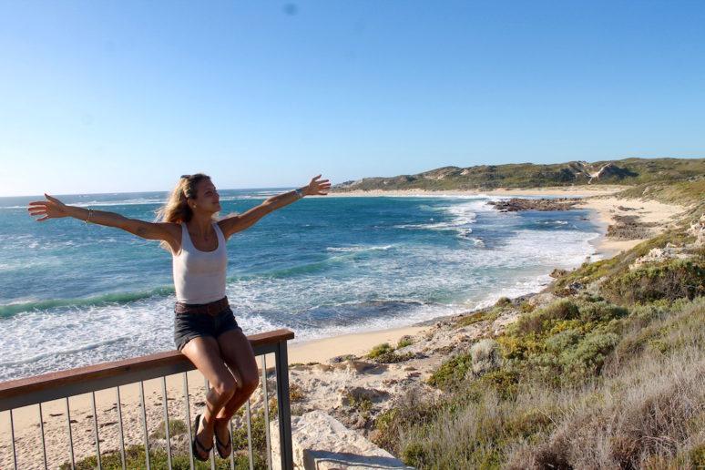 ON THE ROAD IN MARGARET RIVER, AUSTRALIA Surfers-point-australia