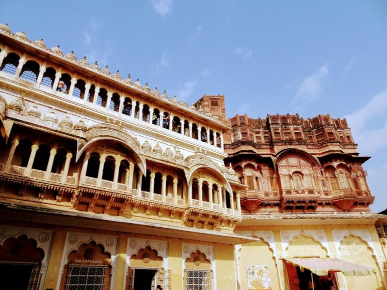 MEHRANGARH FORT OUTSIDE