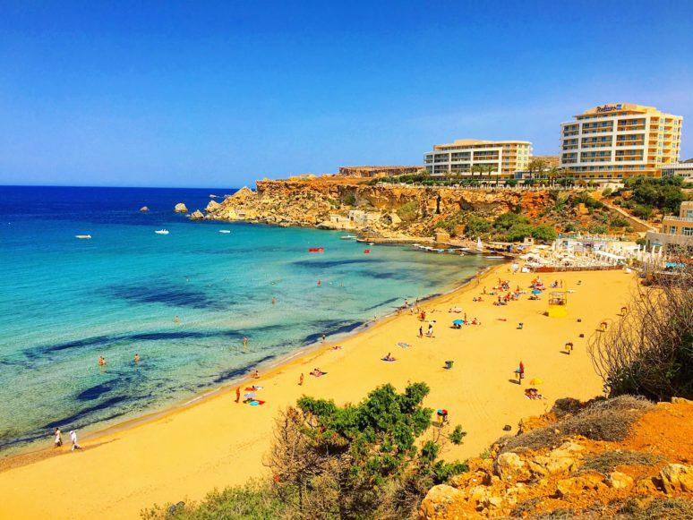 MALTA- 10 PLACES TO EXPLORE IN THE MALTESE ARCHIPELAGO Golden_Bay_Malta