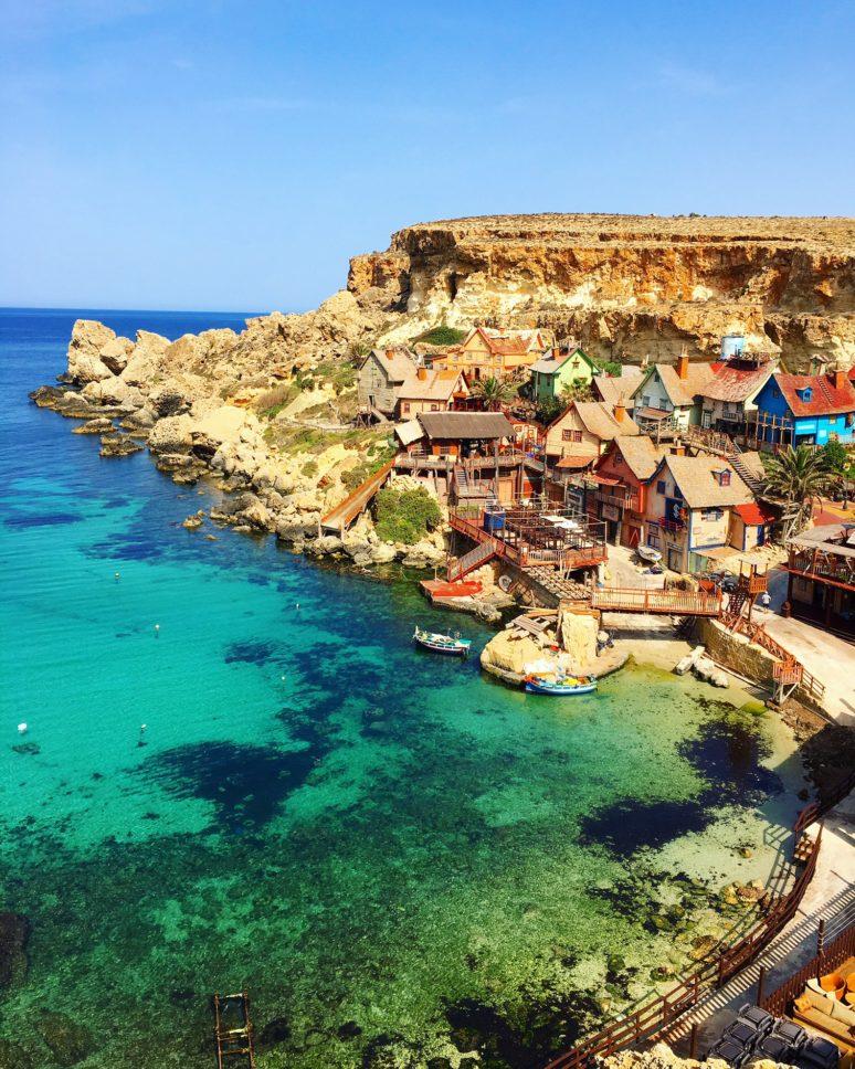 MALTA- 10 PLACES TO EXPLORE IN THE MALTESE ARCHIPELAGO Popeye_Village2_Malta