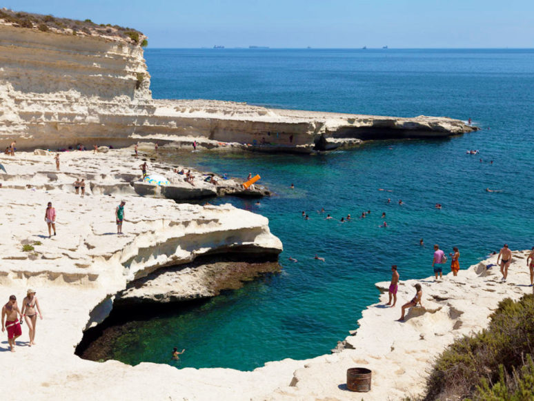 MALTA- 10 PLACES TO EXPLORE IN THE MALTESE ARCHIPELAGO St_Peters_Pool_Malta