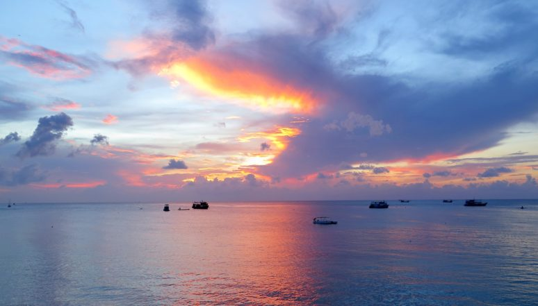 6 MUST SEE SPOTS IN KOH TAO, THAILAND sunset
