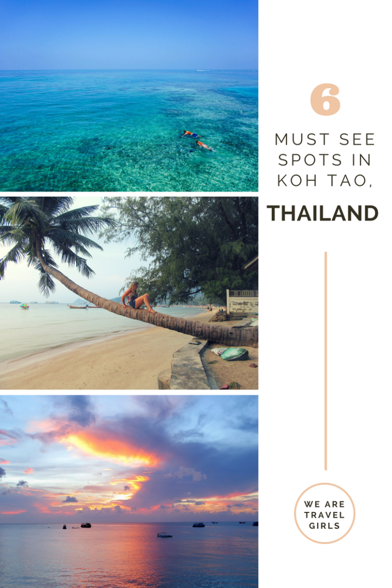 6 Must See Spots in Koh Tao Thailand Graphic 1