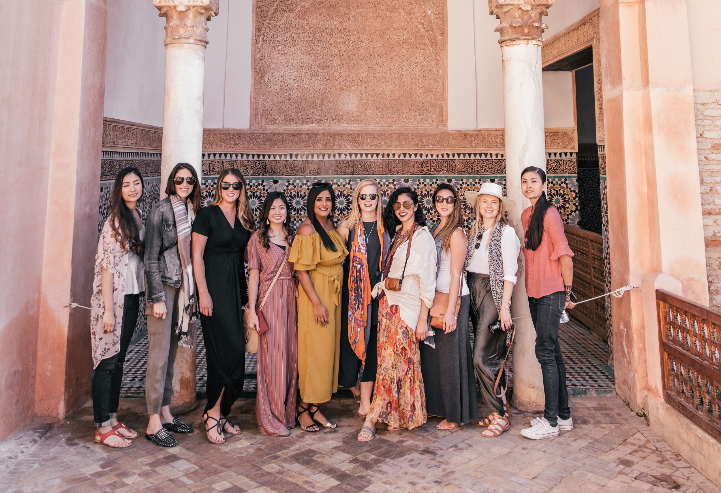 Travel Girls Getaways Women's Group Trip Morocco