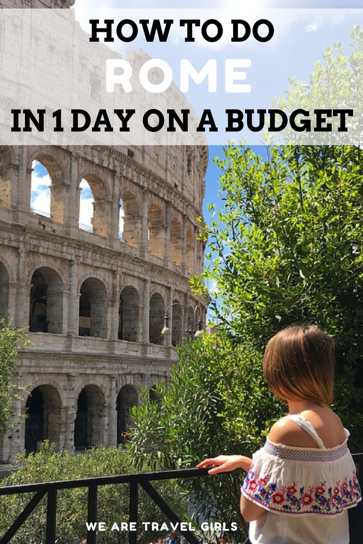 How to do rome in 1 day on a budget, graphic 1