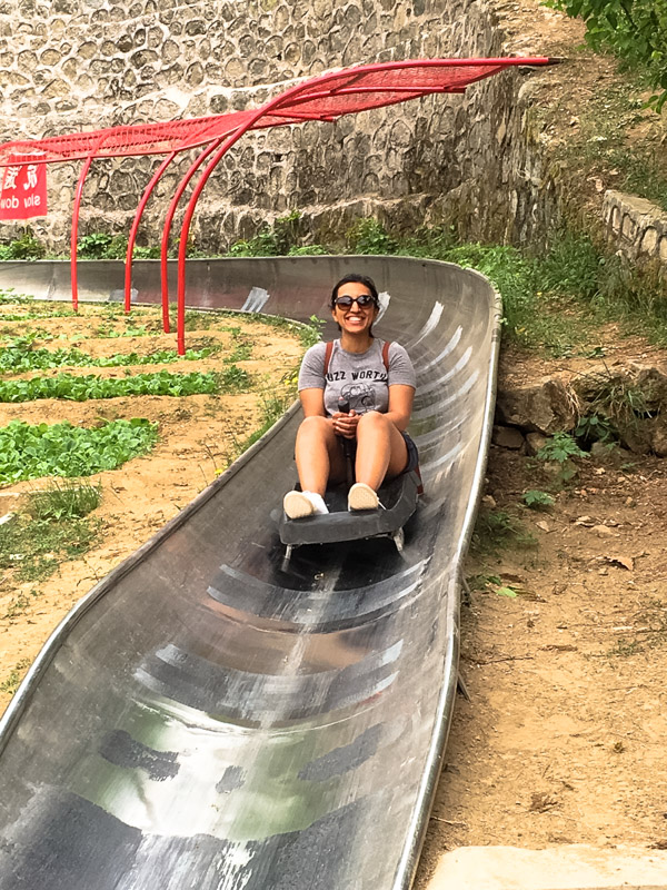 Toboggan_The-Great-Wall HOW TO HIKE THE GREAT WALL OF CHINA LIKE A PRO