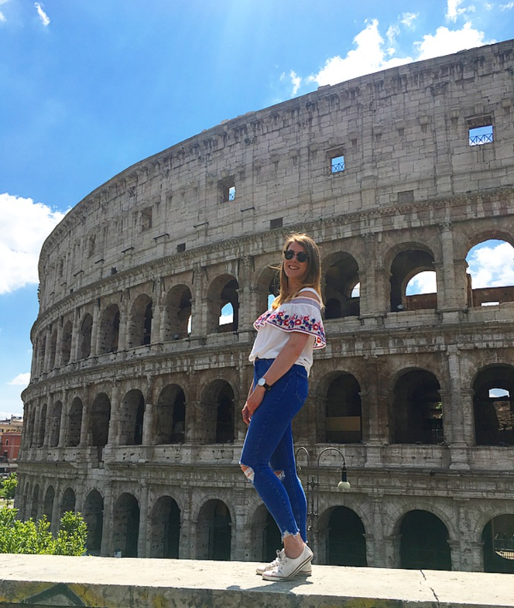 colosseum-me-rome HOW TO DO ROME IN 1 DAY ON A BUDGET