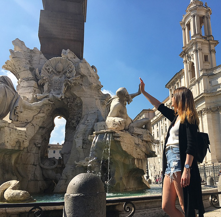 piazza-navona-2-me-rome HOW TO DO ROME IN 1 DAY ON A BUDGET