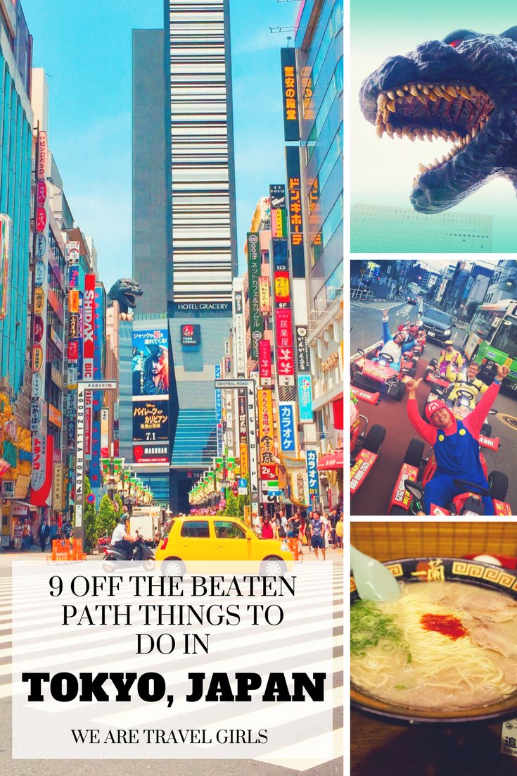 9 off the beaten path things to do in TOKYO, JAPAN graphic 1