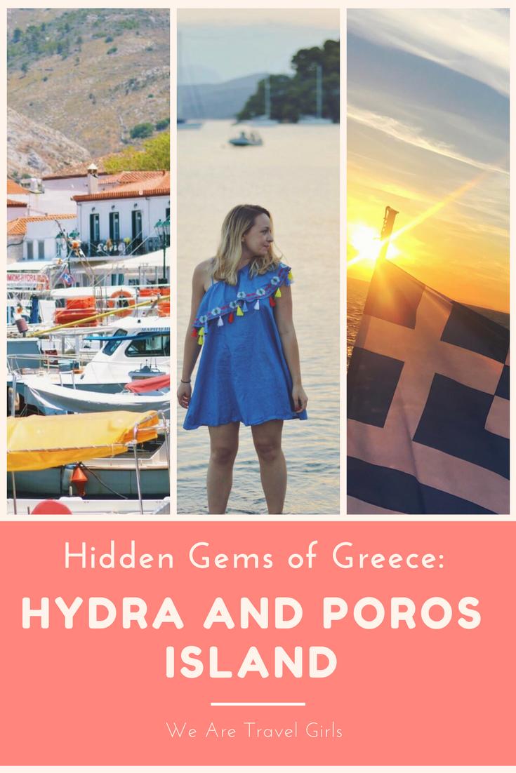HIDDEN GEMS OF GREECE- HYDRA AND POROS ISLAND graphic 1