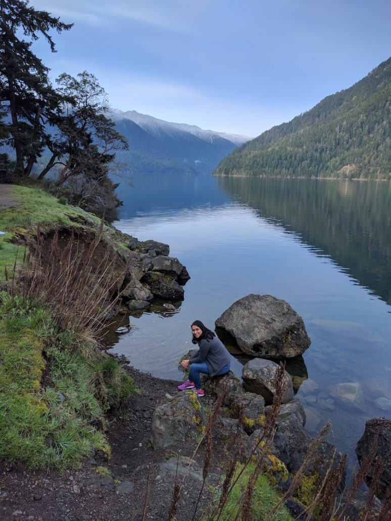 Olympic-National-Park-Lake-Crescent-Me EXPLORING OLYMPIC NATIONAL PARK, SEATTLE