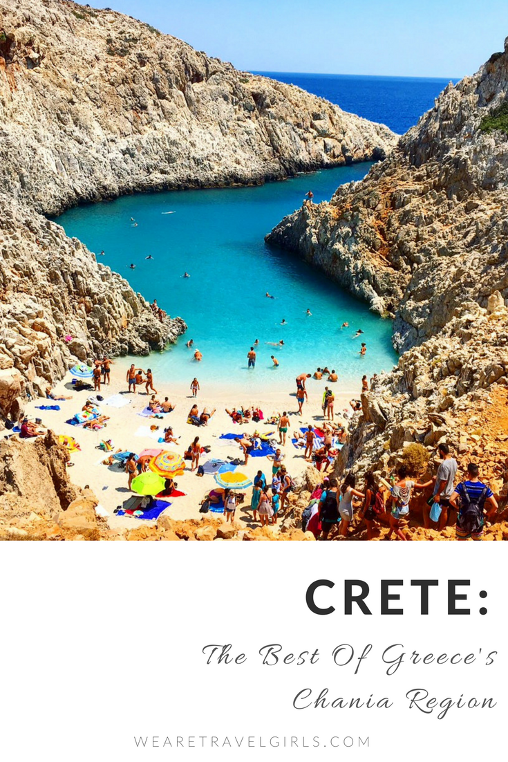 CRETE THE BEST OF THE GREECE'S CHANIA REGION