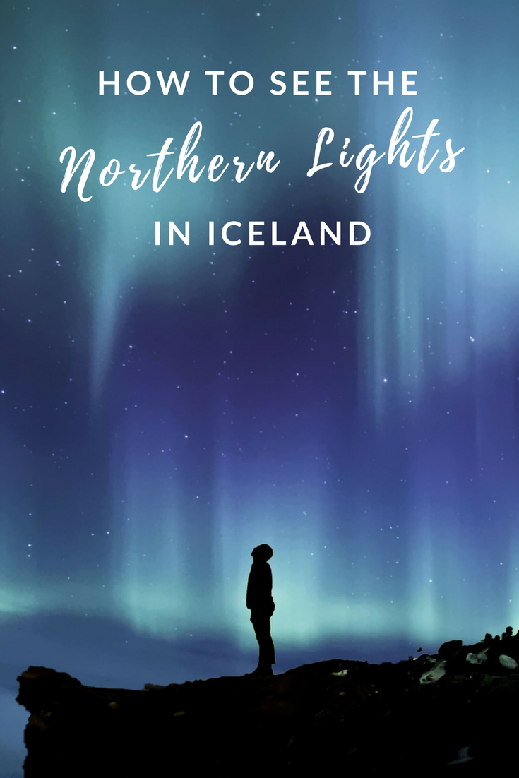 aurora-borealis HOW TO SEE THE NORTHERN LIGHTS IN ICELAND graphic