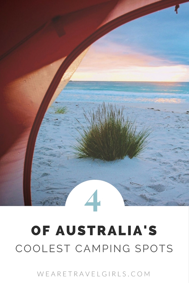 4 OF AUSTRALIA'S COOLEST SLEEPOVER SPOTS
