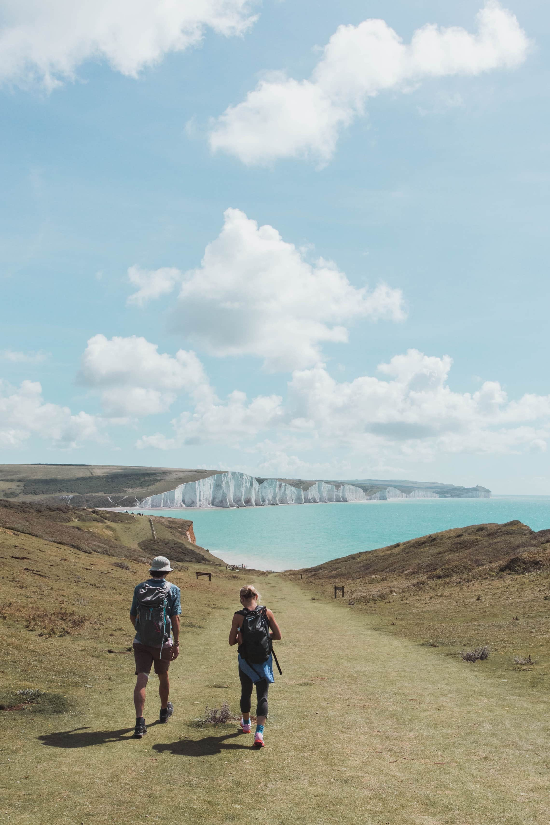 Walking path to Seven Sisters