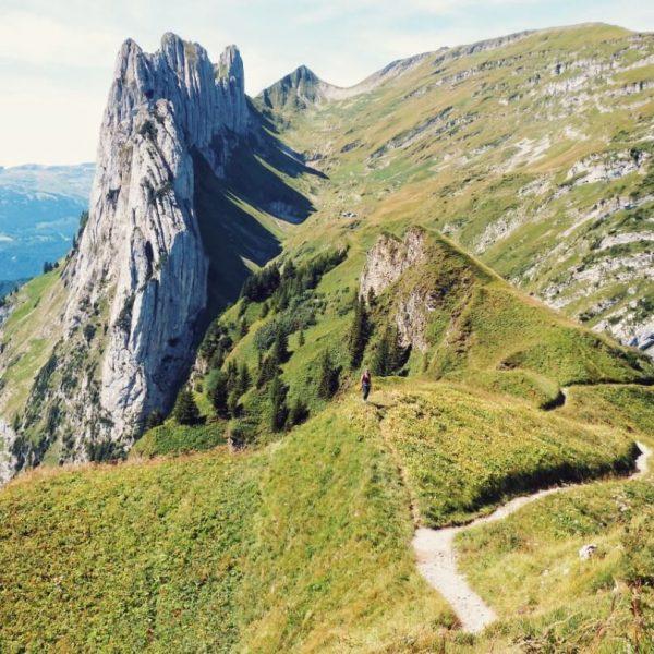 HIKING FOR CHEESE IN SWITZERLAND