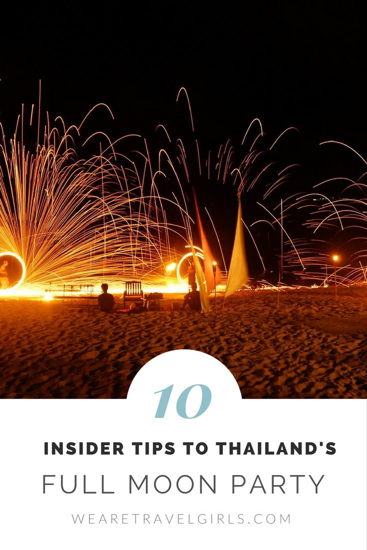 10 Insider Tips To Thailand's Full Moon Party