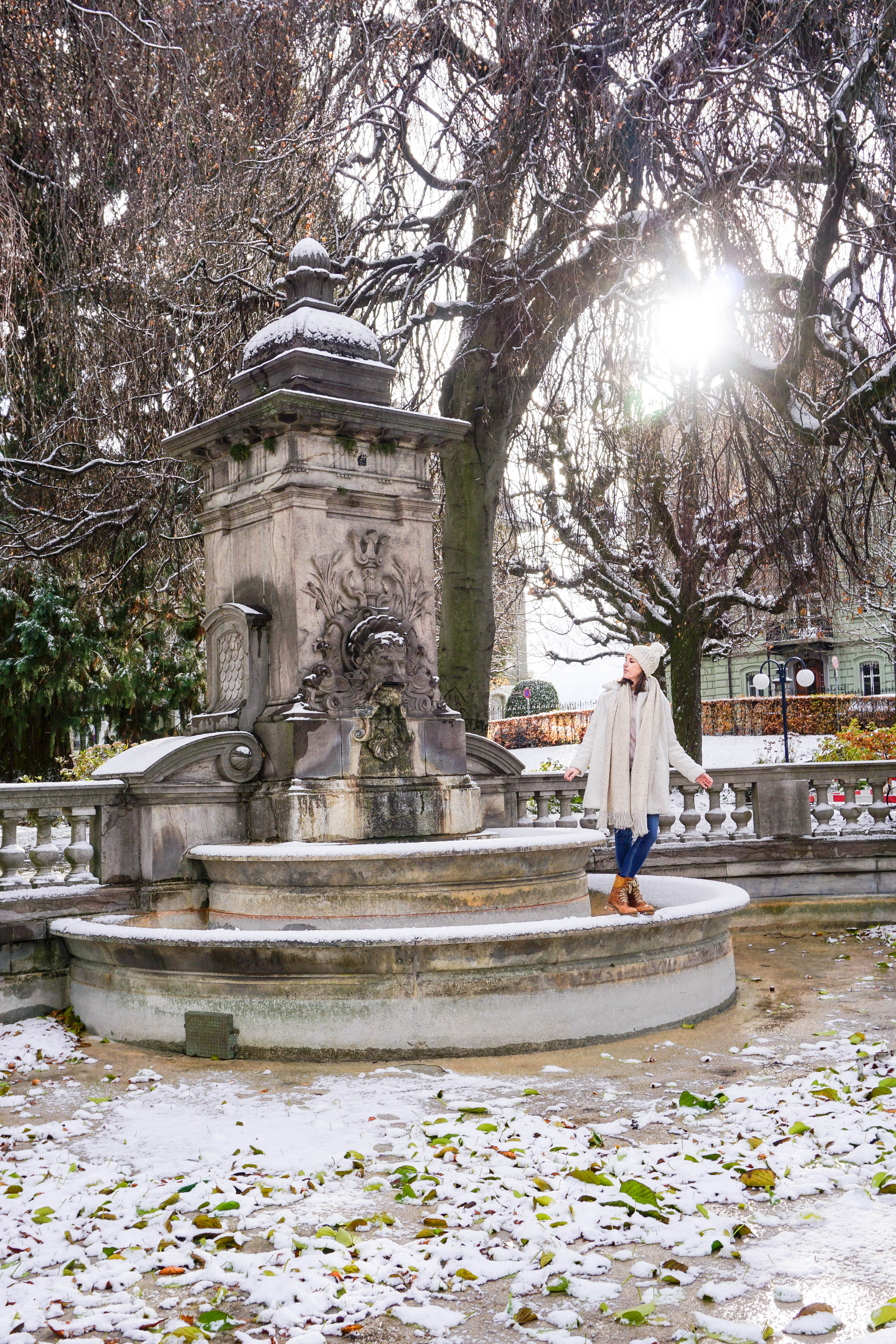 Discovering The Winter Magic Of Lausanne
