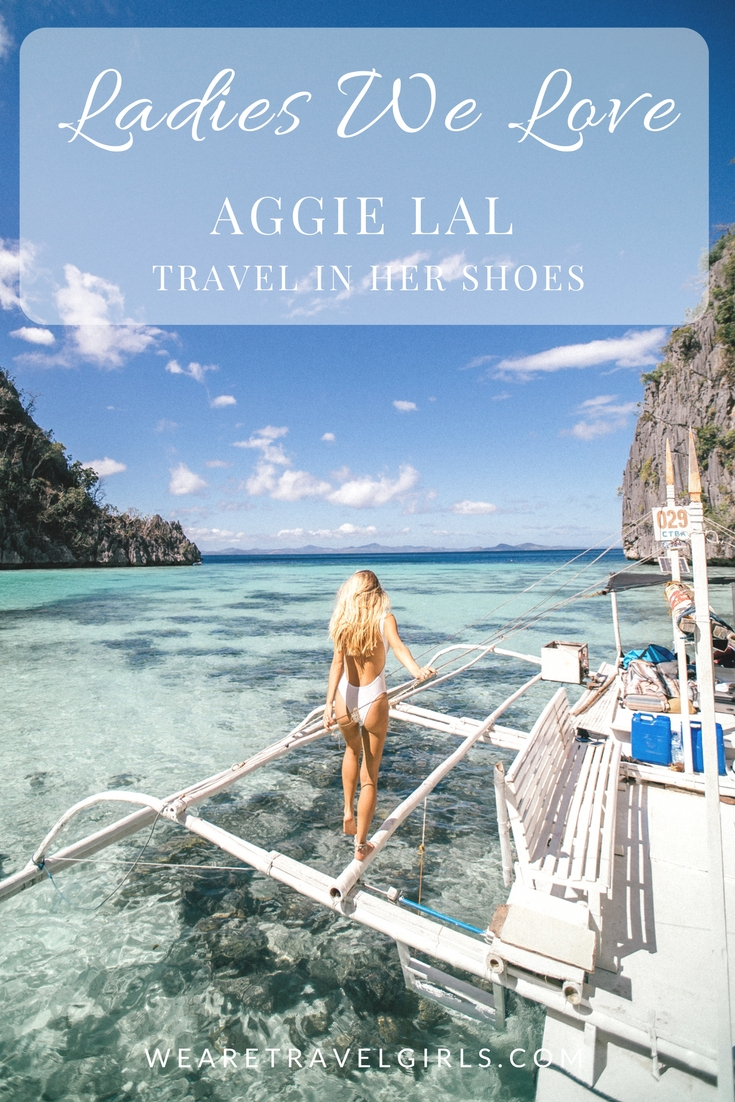 LADIES WE LOVE AGGIE LAL TRAVEL IN HER SHOES