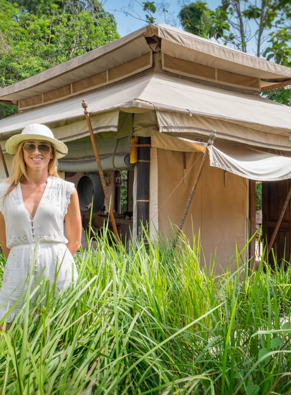 Lounge Like A Supermodel In Beautiful Luxury Tents, Ubud Bali