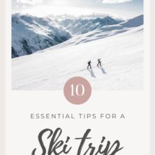 Things To Know Before Your First Ski Trip PInterest Cover