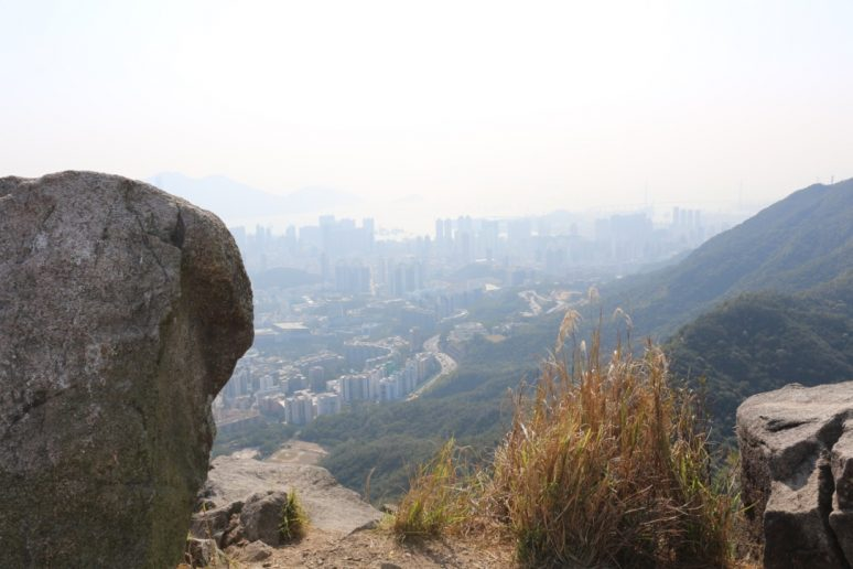 View from Lion Rock Hike in Hong Kong