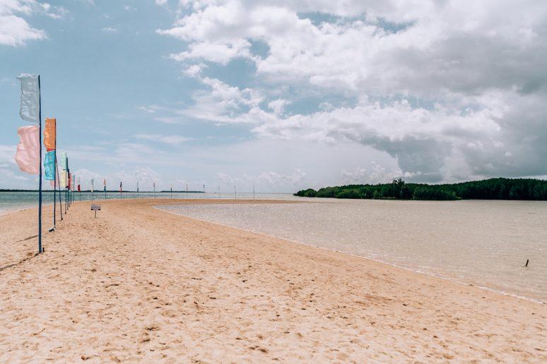 Luli Island in Honda Bay, Philippines