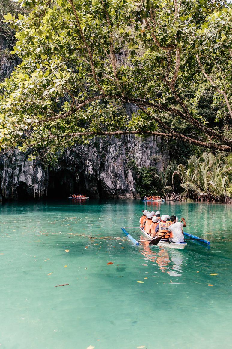 Puerto Princesa Underground River Cave in Philippines