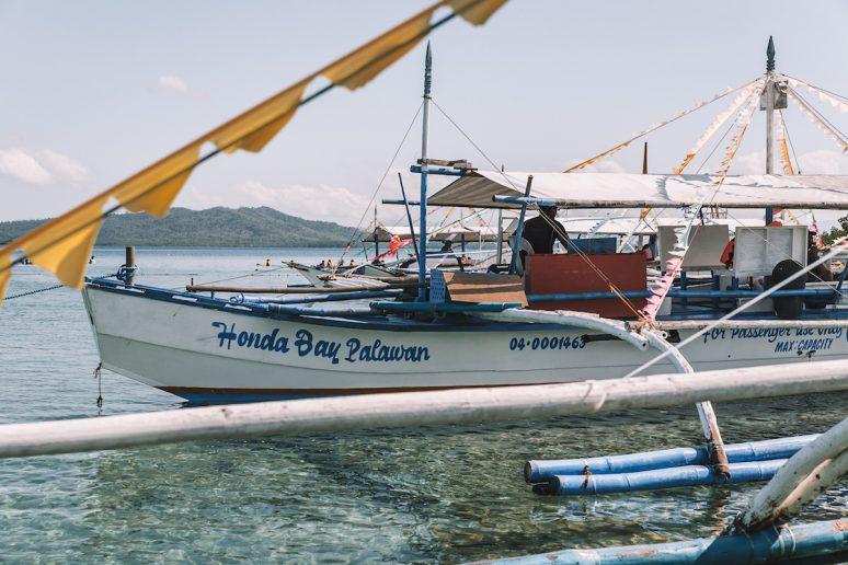 Honda Bay Palawan Boat in the Philippines