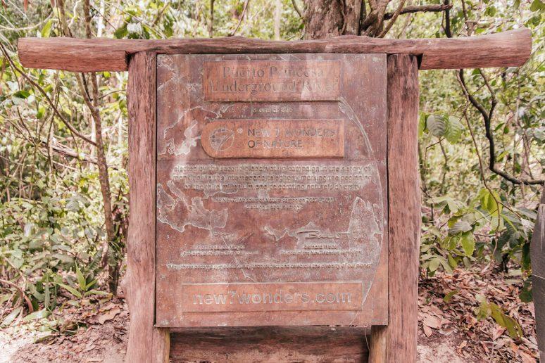 Puerto Princesa Underground River Tour Sign
