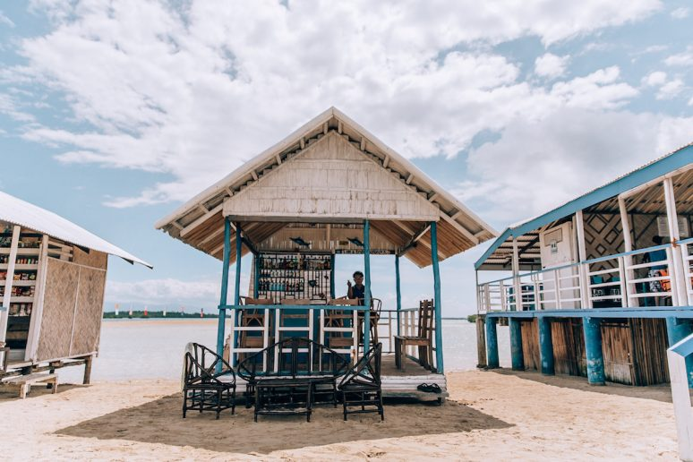 Traditional Bar on Luli Island in Honda Bay, Philippines