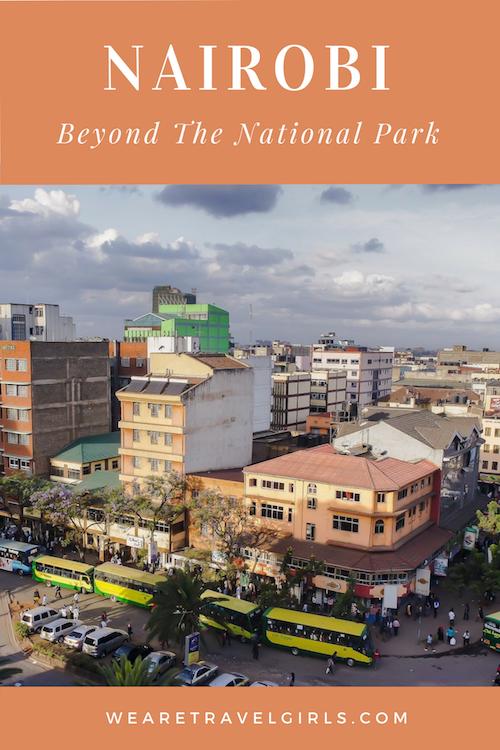 NAIROBI BEYOND THE NATIONAL PARK